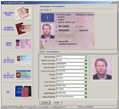 Come velocizzare la registrazione e la lettura ottica dei for Carta di soggiorno documenti